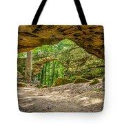 Natural Bridge Cave Tote Bag