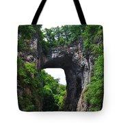 Natural Bridge In Rockbridge County Virginia Tote Bag