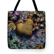 Natural Heart Tote Bag