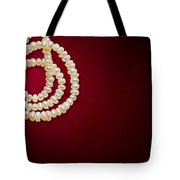 Natural Pearls Necklace Tote Bag