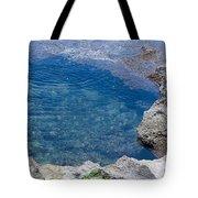 Natural Pool Of Seawater Tote Bag