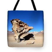 Natural Rock Sculpture Tote Bag