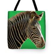 Natural Zebra Tote Bag