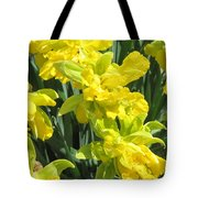 Naturalized Daffodils On The Farm Tote Bag