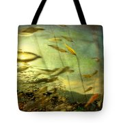 Nature #12. Strong Wind Tote Bag