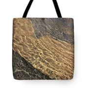 Nature Abstract - Clear Lake Tahoe Water  Tote Bag