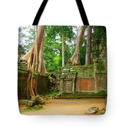 Nature Always Wins Tote Bag