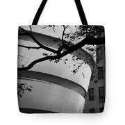 Nature And Architecture In Black And White Tote Bag