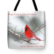 Nature Brings Tote Bag