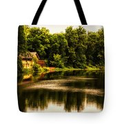 Nature Center Salt Creek In August Tote Bag