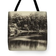 Nature Center Salt Creek In Heirloom Finish Tote Bag