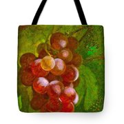 Nature Goodness Grapes On The Vine Tote Bag