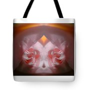 Nature In Abstract Camellia Tote Bag