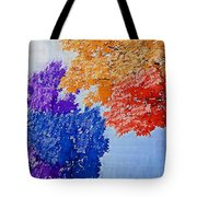 Nature In Its New Colors Tote Bag