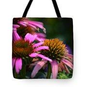 Nature Made Echinacea Tote Bag