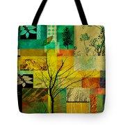 Nature Patchwork Tote Bag