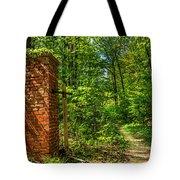 Nature Reclaims Tote Bag