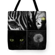 Nature Squares - Collage Tote Bag