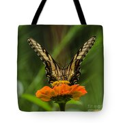 Nature Stain Glass Tote Bag
