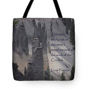 Nature Study Tote Bag by Sharon Elliott