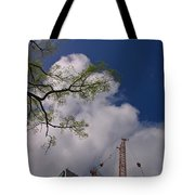 Nature Vs Industry  Tote Bag