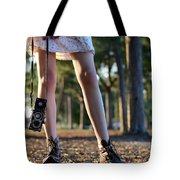 Nature Walk Tote Bag by Laura Fasulo