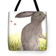 Nature Wild Rabbit Tote Bag