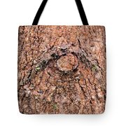Nature's Abstract Eye Tote Bag