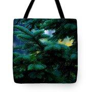 Nature's Christmas Tree Tote Bag