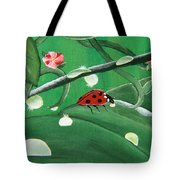 Nature's Drinking Fountain Tote Bag