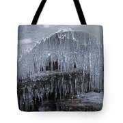 Natures Frozen Cathedral Sculpture Tote Bag