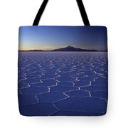 Natures Geometry Salar De Uyuni Tote Bag