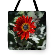 Nature's Gold Flower Tote Bag