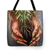 Natures Hands Tote Bag