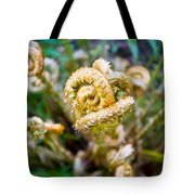 Natures Knot-how To Twist Tote Bag