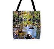 Natures Mood Lighting Tote Bag