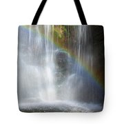 Natures Rainbow Falls Tote Bag