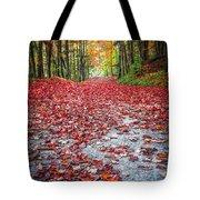 Nature's Red Carpet Tote Bag