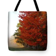 Nature's Red Highlights Tote Bag