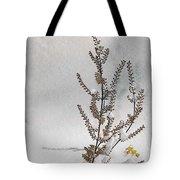 Natures Snow Coat Tote Bag