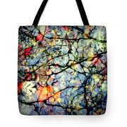 Natures Stained Glass Tote Bag