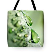 Nature's Teardrops Tote Bag