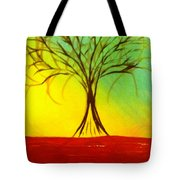 Natures Vivid Colors Tote Bag