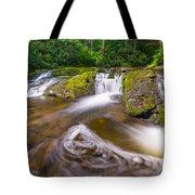 Nature's Water Slide Tote Bag