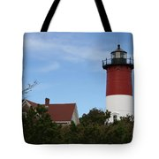 Nauset Beach Light Tote Bag
