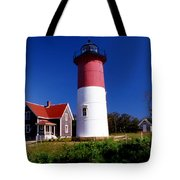 Nausett Lighthouse Tote Bag