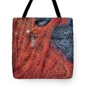 Nautical Nets Tote Bag by Heidi Smith