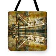 Nautical Timepiece Tote Bag
