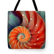 Nautilus Shell - Nature's Perfection Tote Bag