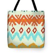Southwest Pattern I Tote Bag by Nicholas Biscardi